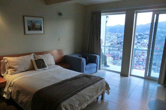 Hotel Balcon del Cielo: 谷の頂上にある部屋