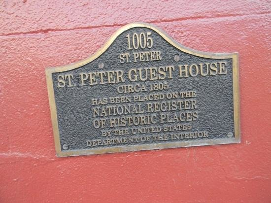 Inn on St. Peter: been here since 1805.