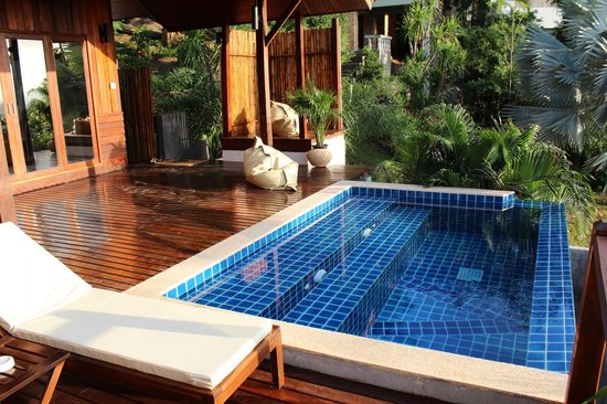 The Place Luxury Boutique Villas: Villa 3 - Deck & Plunge Pool