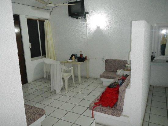 Hotel Club Papanoa : Habitacion