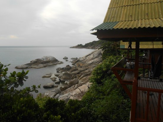 Hua Laem Resort: The view from our bungalow