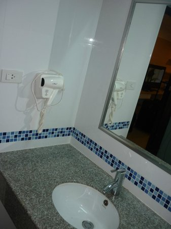 SPB Paradise: Bathroom/toilet - hairdryer included