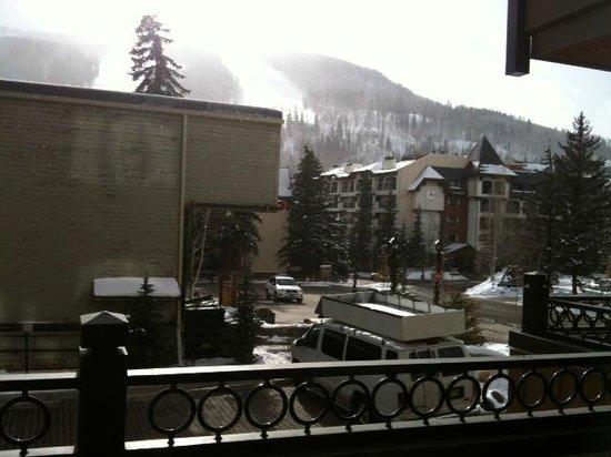 Landmark Condominiums: Balcony view 