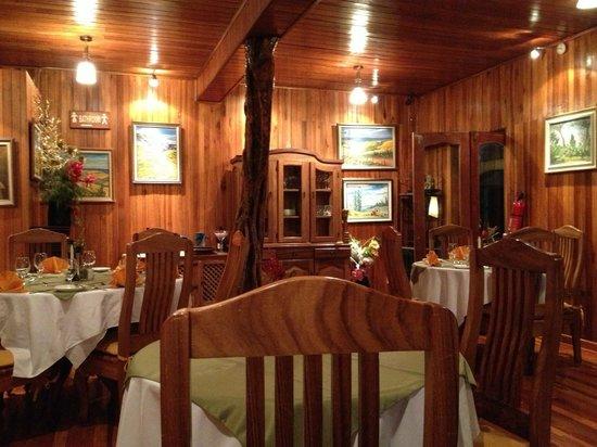 Hotel Fonda Vela: Restaurant