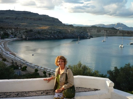Lindos Mare Hotel: Bays and beaches with views... from Lindos Town