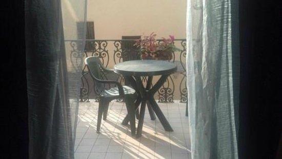 Residenza Betta: my room's balcony