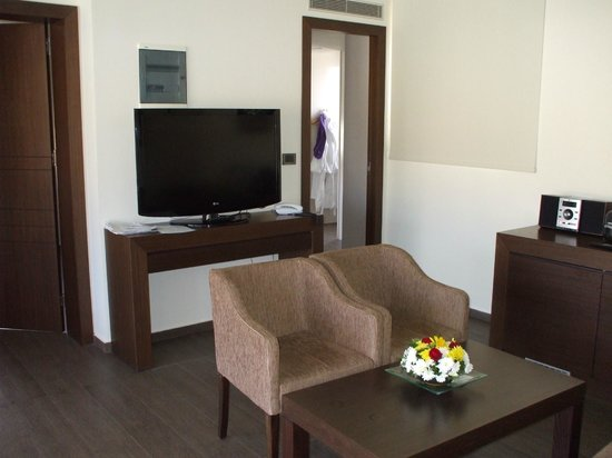 Blue Lagoon Village: suite 3121 living room &with 1st tv