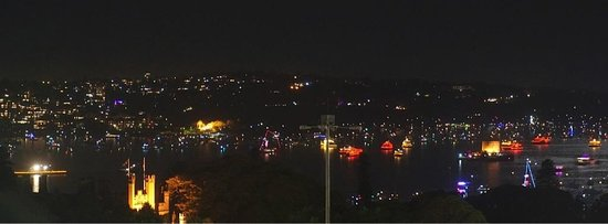 InterContinental Sydney: Boats waiting for fireworks