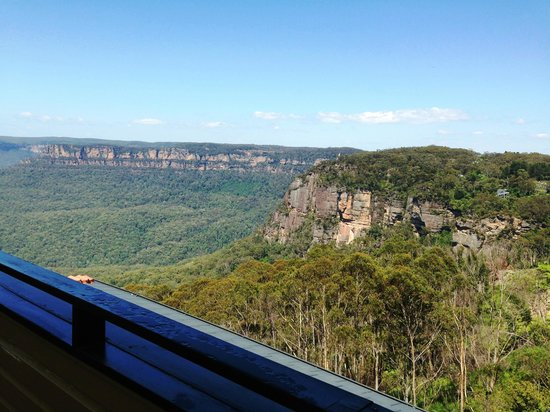 Echoes Boutique Hotel & Restaurant: a view from terrace