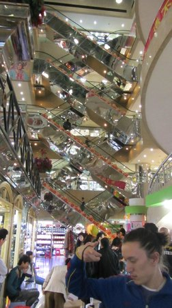 This Is Asia Private Tours-Day Tour: Inside the shopping mall near the train station at Shenzhen