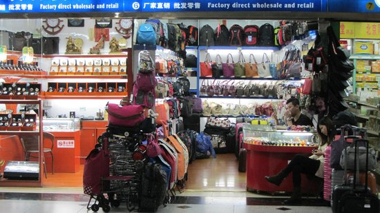 Tur Pribadi - TIA Hong Kong Macau Shenzhen: Shenzhen Mall near the train station