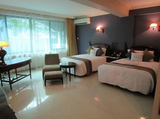 DoubleTree by Hilton Dar es Salaam-Oysterbay: big spacious rooms