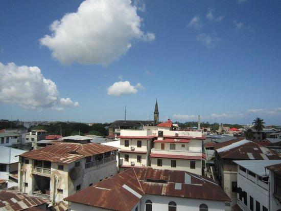 Zanzibar Coffee House: rooftop view