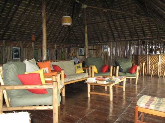 Gorilla Resort Camp: Lounges with a view