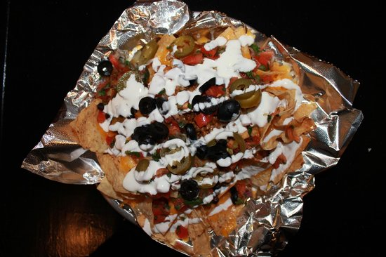 Guadalupe Grill: Nachos piled high with your favorite toppings!