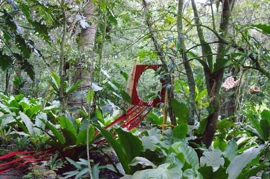 Cahuita National Park Hotel: beautiful art installations!