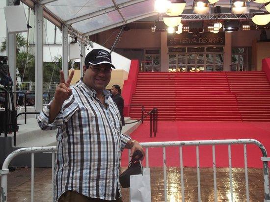 Palais des Festivals et des Congrès of Cannes: En la alfombra roja de Cannes