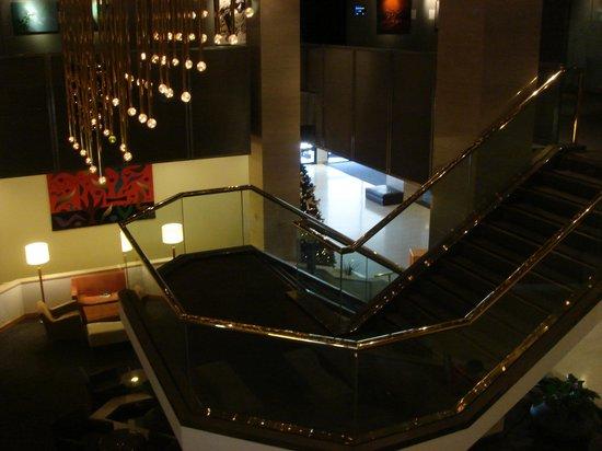 Hilton Adelaide: 工事中のロビー