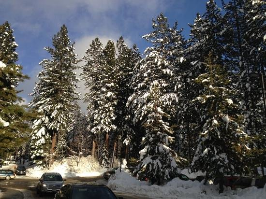 Hyatt Regency Lake Tahoe Resort, Spa and Casino: upon arrival on December 30th.