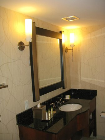 DoubleTree by Hilton Hotel Greensboro : Bathroom