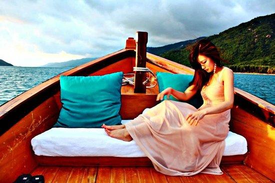 Six Senses Ninh Van Bay: sunset cruise