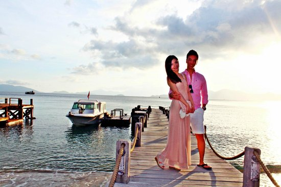 Six Senses Ninh Van Bay: hotel Jetty