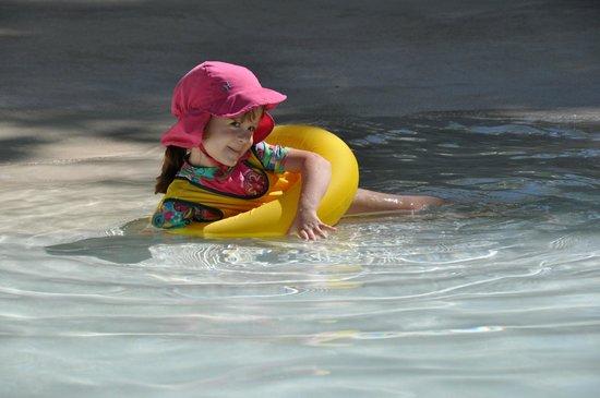 Bavaro Princess All Suites Resort, Spa & Casino: Our daughter enjoying the pool