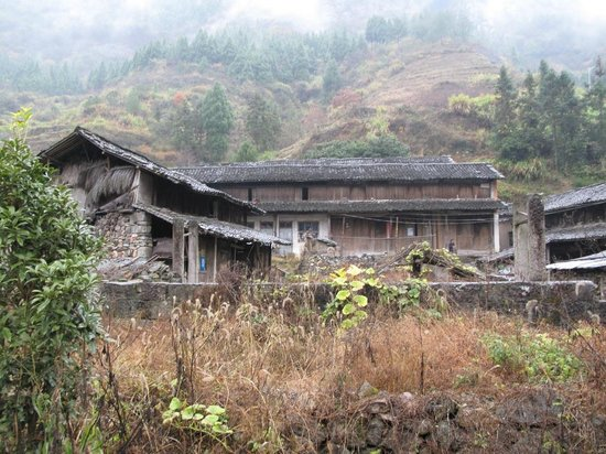 Gongyu Scenic Area: The old horse quarters