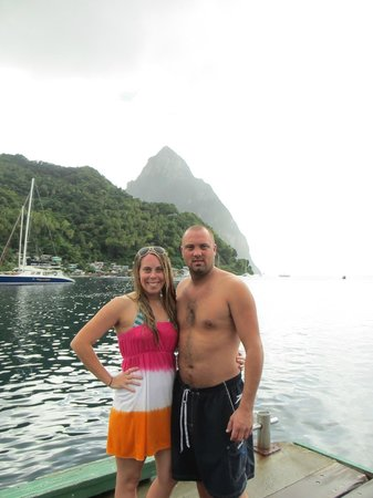 The Real Deal Boat Tours: Pitons