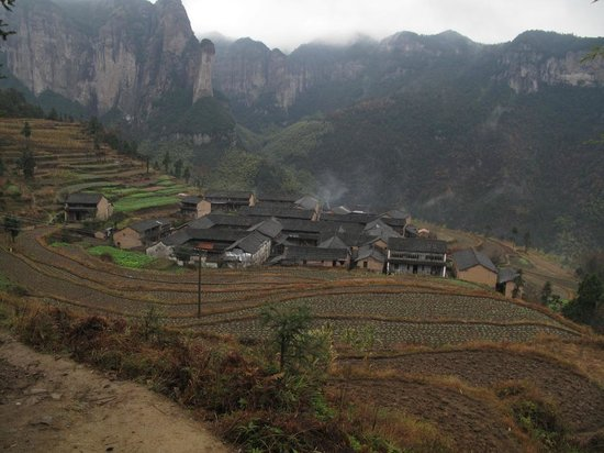 Xianju County, China: Gong Yu village