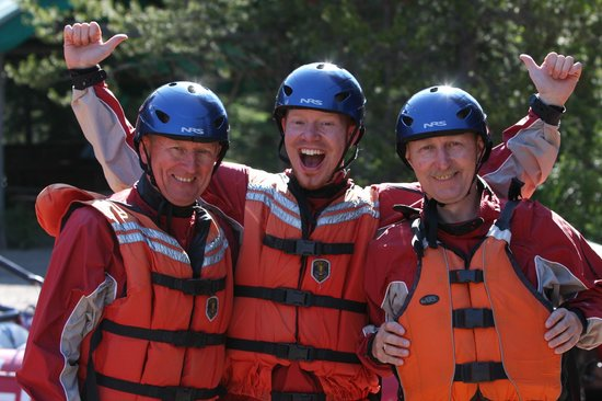 Fun times had by all with Alpine Rafting