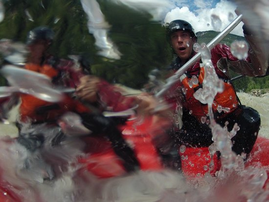 Alpine Rafting: You will get wet on this ride