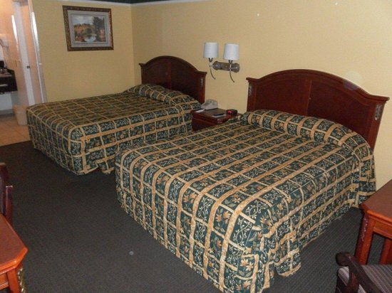 Portola Inn and Suites : beds