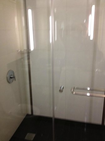 Hilton Charlotte Center City: Nice Large Shower!