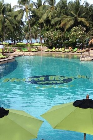 Hard Rock Hotel Pattaya : piscina do hotel