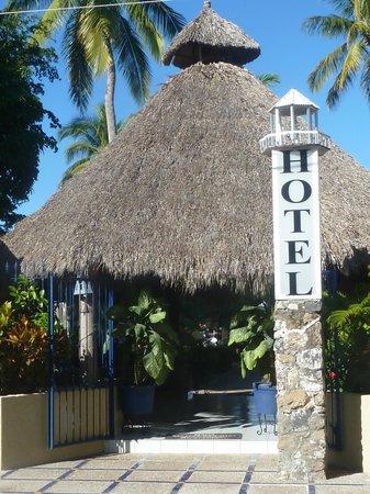 Marina San Blas: front of the hotel