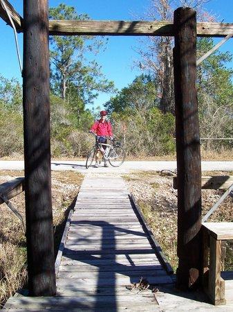 Gen. James A. Van Fleet State Trail: One of the stops.