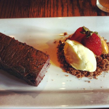 The Burwood Inn: Chocolate Brownie Yum!