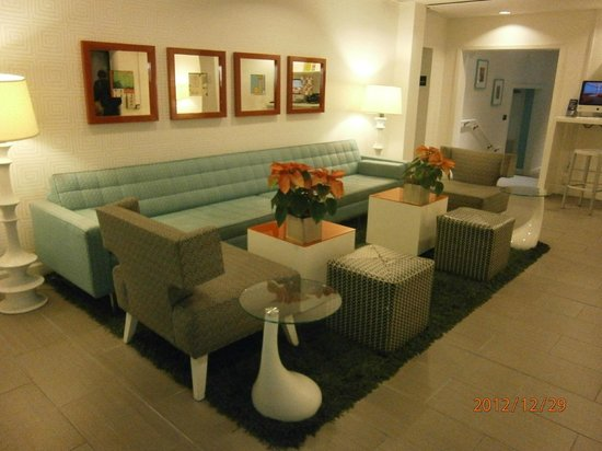 Americania Hotel: Sitting area in Hotel