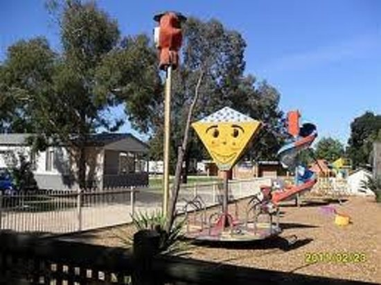 Nathalia Motel and Holiday Park: Our playground