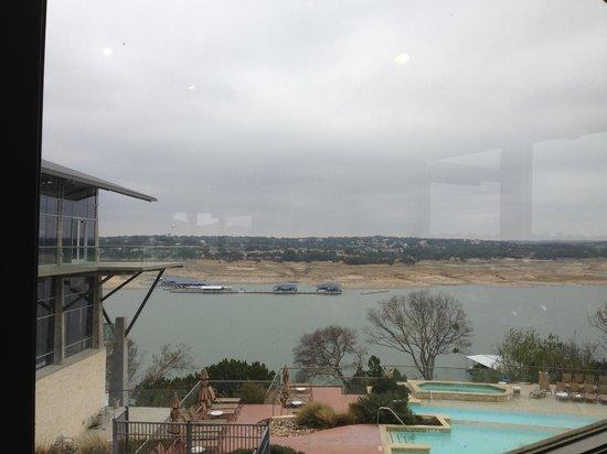 ليك واي ريزورت آند سبا: View from the restaurant