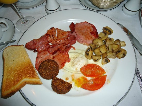 Atlantic Hotel: The Traditional Irish Breakfast