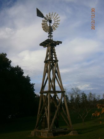 John Muir National Historic Site: Windmill on property