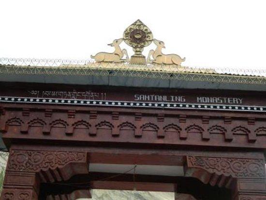 Samstanling Monastery: Monastery Gate 3