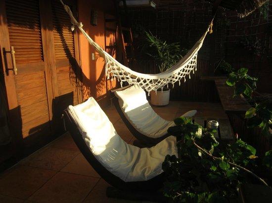 Casa na Praia: Terrasse de la chambre