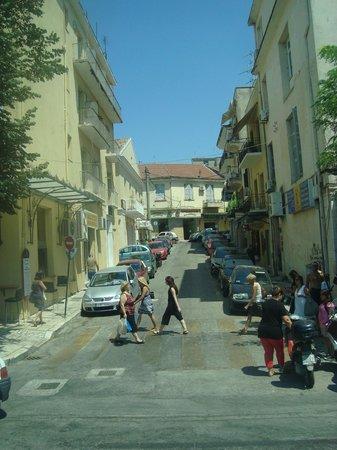 Mazis Apartments:                   Corfu Town