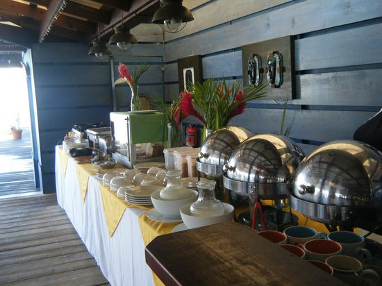 True Blue Bay Boutique Resort: Breakfast Buffet
