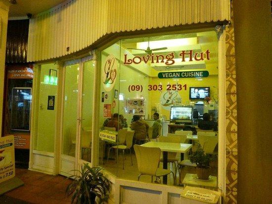 Loving Hut Restaurant: The FRONT