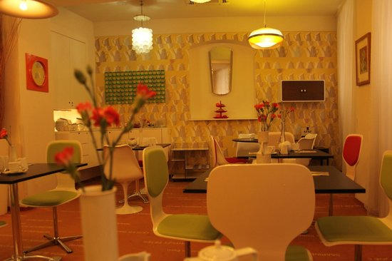 Vintage Design Hotel Sax: breakfast corner