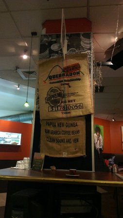 Verve Cafe: Used sacks